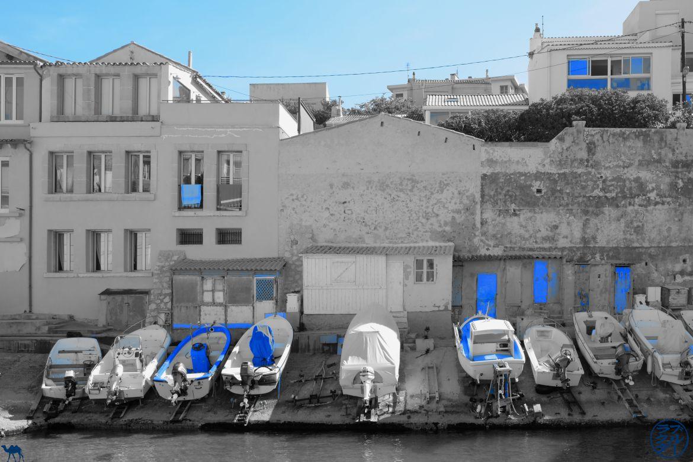 Le Chameau Bleu - Blog Voyage Méditerranée -Port de MALMOUSQUE