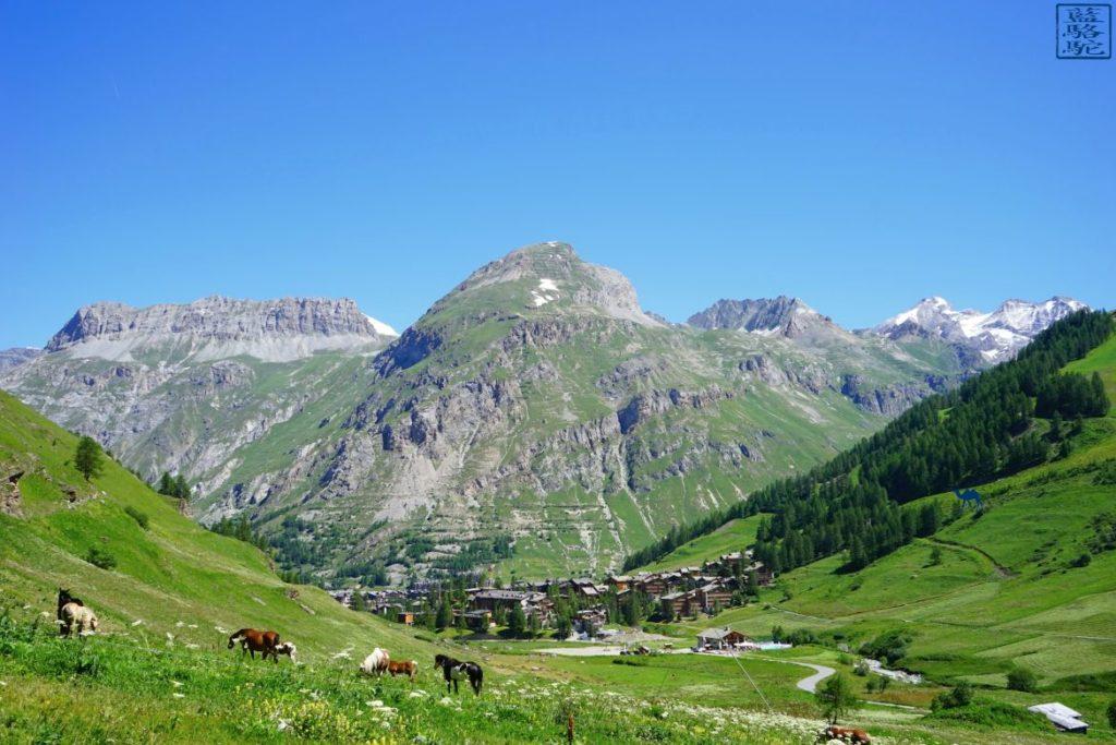 Le Chameau Bleu -Blog Voyage Val d'Isère - Séjour Val d'Isère en été France