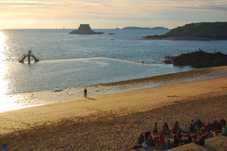 Le Chameau Bleu - Blog Voyage Saint Malo France - Face au Petit Bé - Saint Malo - Plage - Bretagne - France