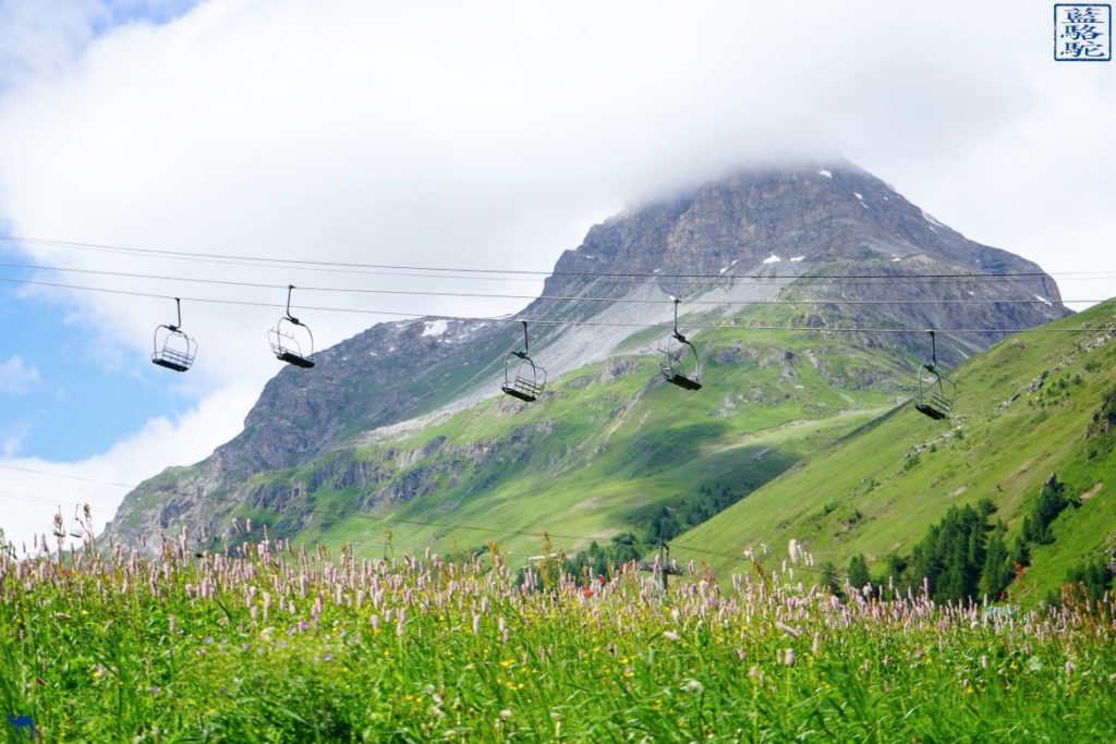 Le Chameau Bleu - Blog Voyage Val d'Isère - Vacances à Val d'Isère en été - Téléphérique
