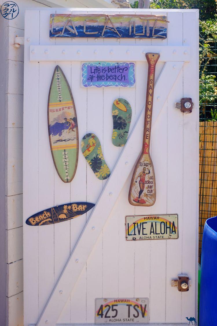 Le Chameau Bleu - Blog Voyage Six Fours Les Plages - La Cahute au Brusc - Ecole de surf