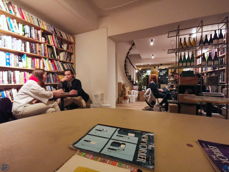 Le Chameau Bleu - Blog Escapade à Gand - Bar à vin Vino Grad Off - Le lieu