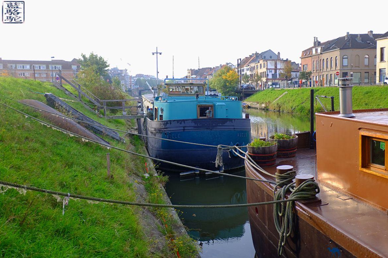 Le Chameau Bleu - Blog Voyage Gand Belgique Hotel - Gand Tourisme - Péniche EcoHostel Andromeda - Gent Hotel sur une péniche