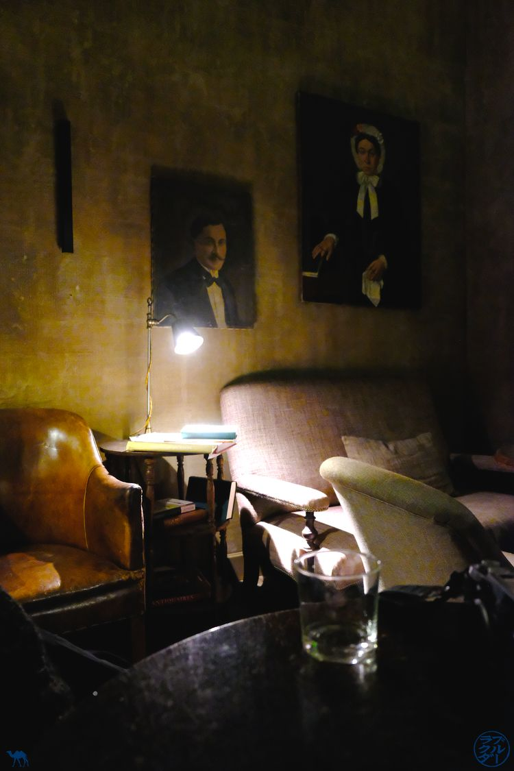 Le Chameau Bleu - Blog Voyage Gand Belgique - Salle de The Cobbler Bar