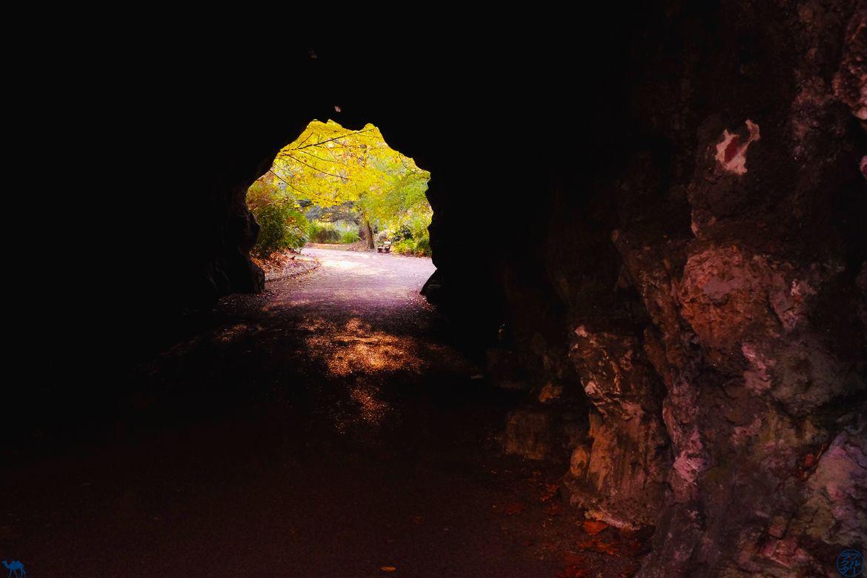 Le Chameau Bleu - Blog Week End à Gand - Grotte du CitadelPark