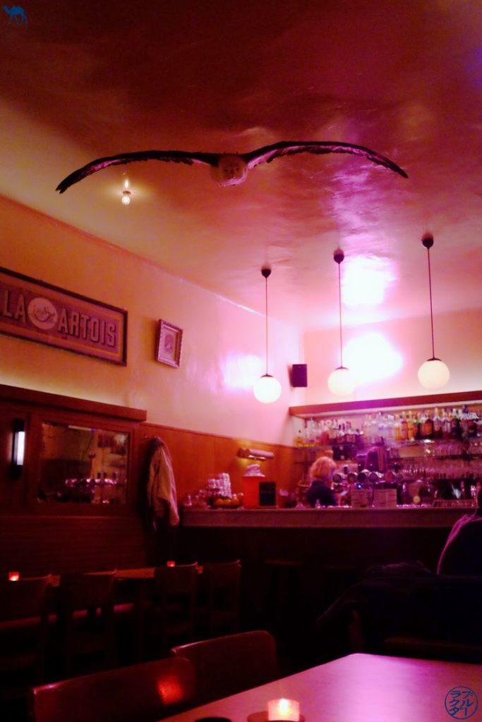 Le Chameau Bleu - Blog Voyage Gand - Café Albatros