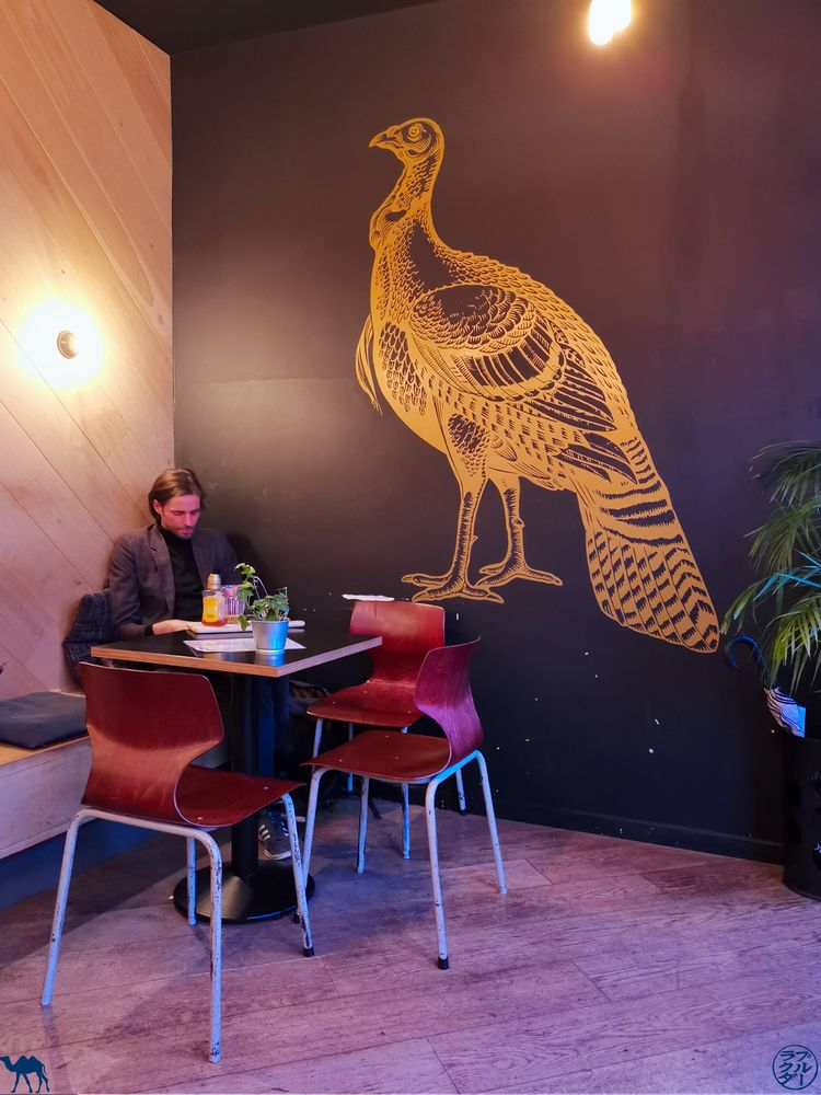 Le Chameau Bleu - Blog Voyage Gand - Salle du Café Infernal