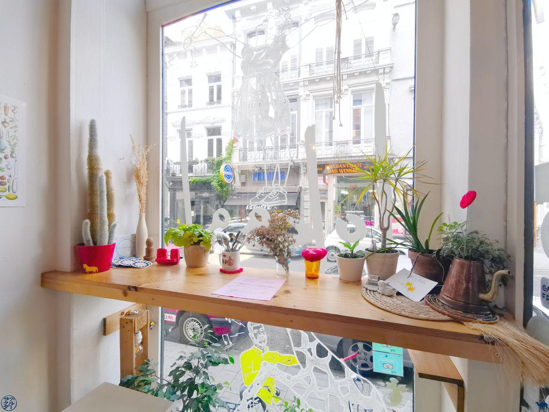 Le Chameau Bleu - Blog Voyage - Adresses Slow Food à Gand - Restaurant Lokaal -Salle