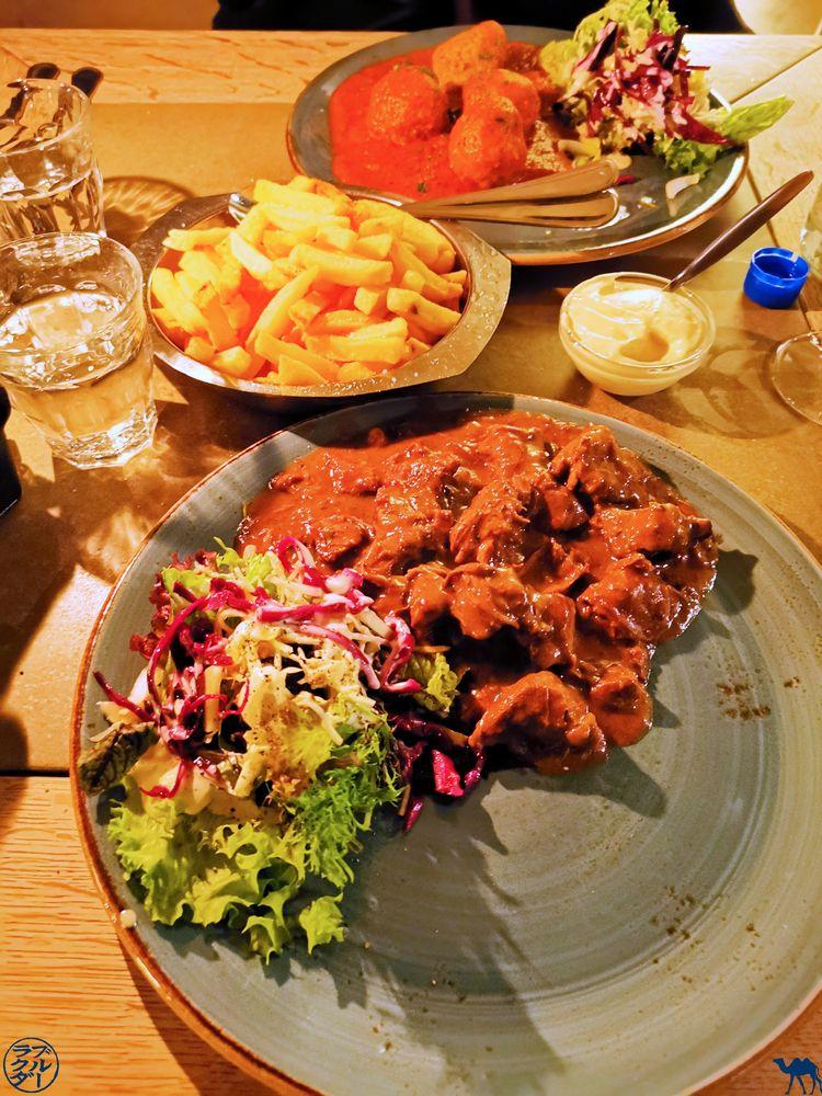 Le Chameau Bleu - Blog Voyage - Nos Adresses gourmandes à Gand - Keizershof - Carbonnade