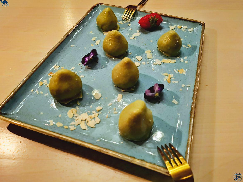 Le Chameau Bleu - Blog Voyage Gand - Restaurant Epiphany- Dessert