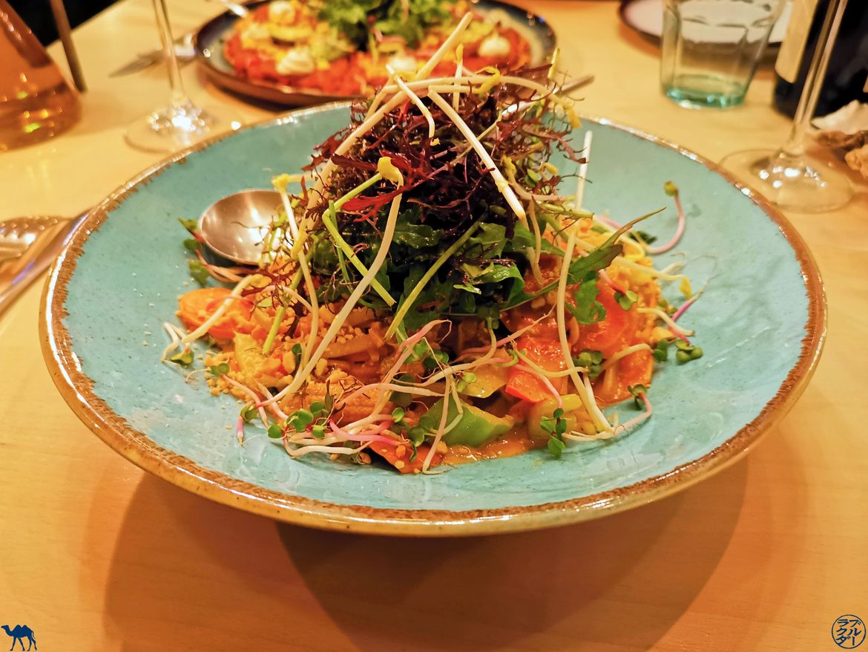 Le Chameau Bleu - Blog Voyage - Adresses Slow Food à Gand - Restaurant Epiphany-Plat