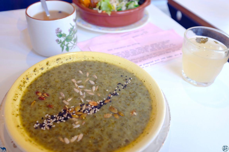 Le Chameau Bleu - Blog Voyage Gand - Restaurant Lokaal -Dejeuner