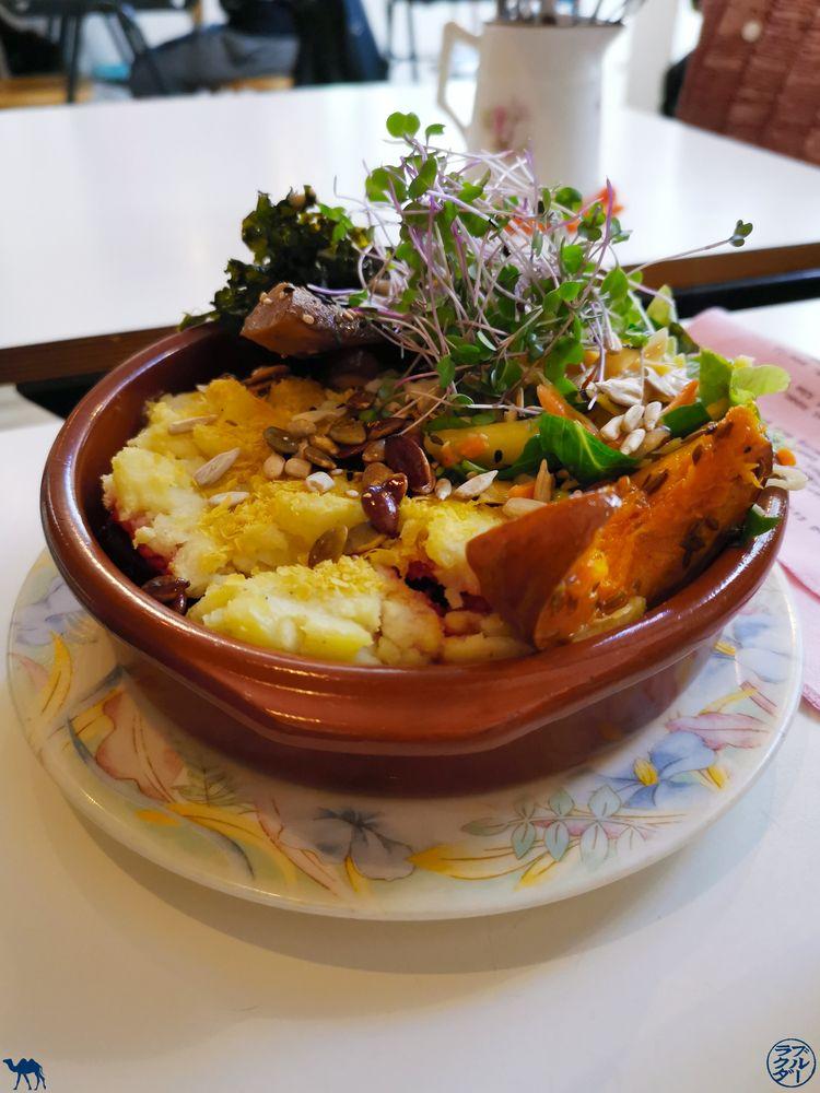 Le Chameau Bleu - Blog Voyage Gand - Gratin du Restaurant Lokaal