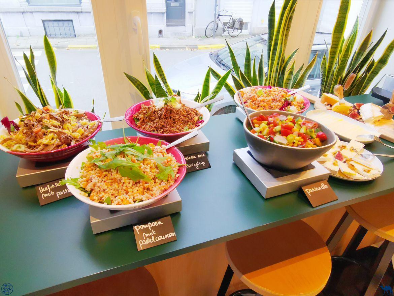 Le Chameau Bleu - Blog Escapade à Gand - Adresses Slow Food à Gand - Café Valeir - Brunch