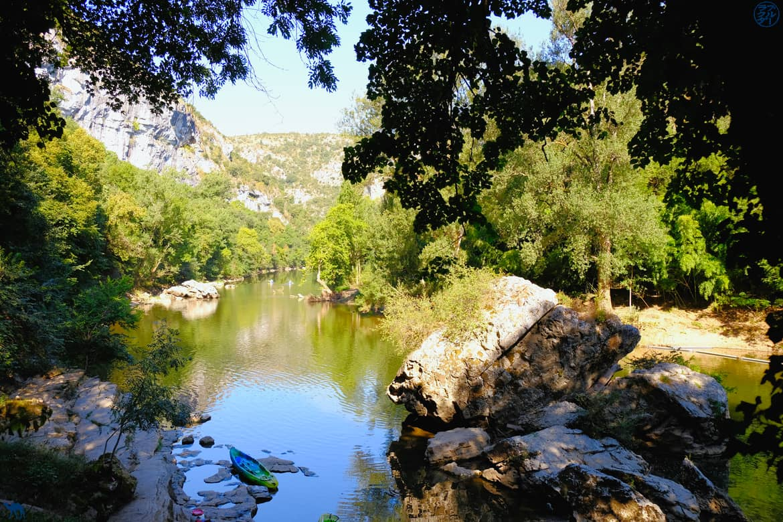 Le Chameau Bleu - Blog Voyage et Cuisine -  gorges de l'Aveyron en  Tarn et Garonne