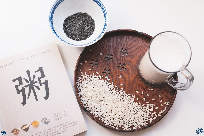 Le Chameau Bleu - Blog Gastronomie et Voyage - Recette de Porridge de Riz au Sésame noir
