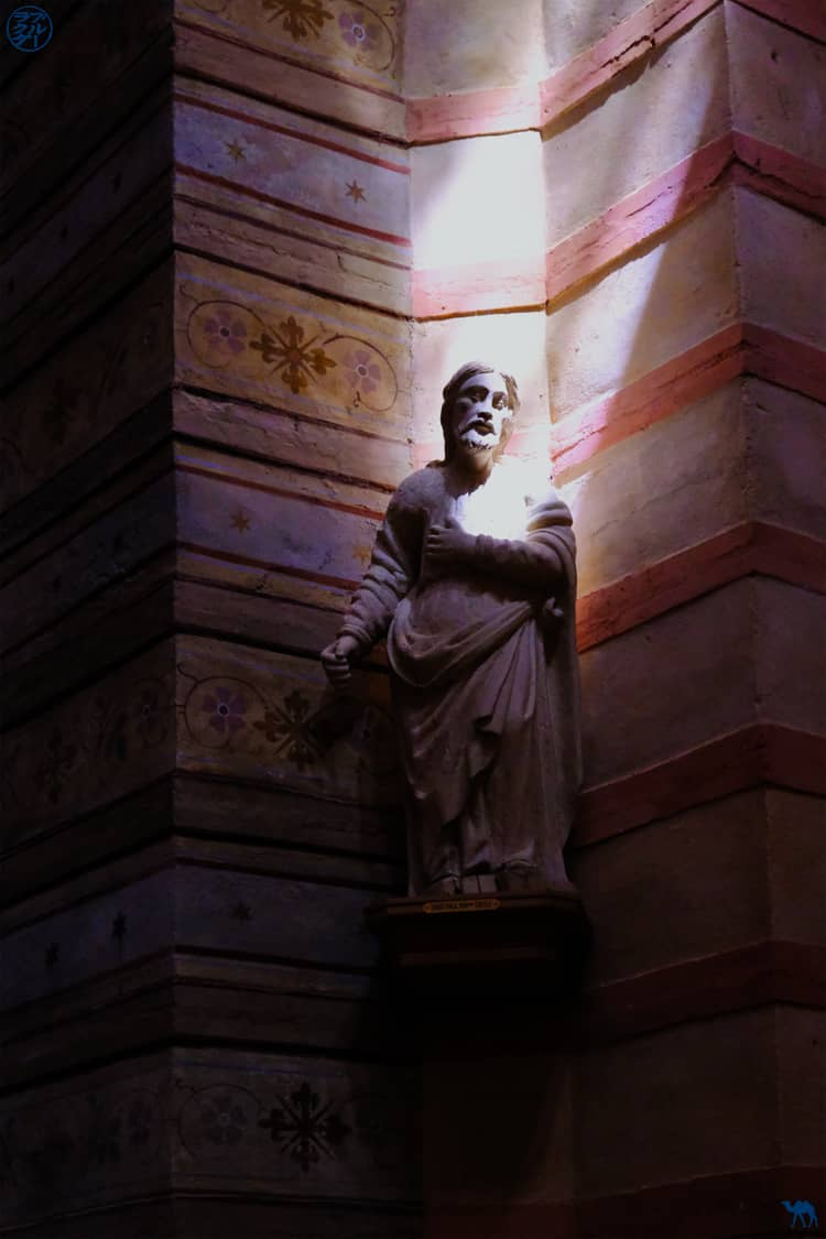 Le Chameau Bleu - Blog Voyage et Cuisine - Halo de l'Eglise de Lapeyrouse - Tarn et Garonne