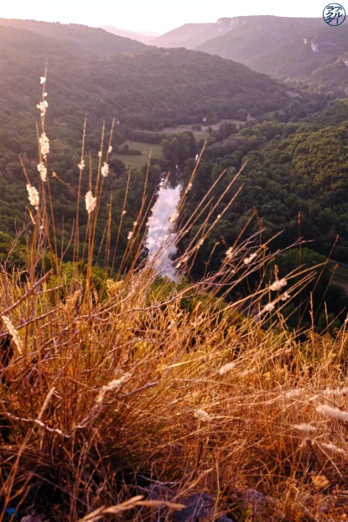 Le Chameau Bleu - Blog Voyage - Les Gorges de l'Aveyron  - Panorama - Tarn et Garonne