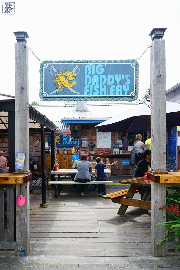 Le Chameau Bleu -Blog Voyage Tofino Canada -Restaurant Big d'addy's fish fry Tofino Ile de vancouver