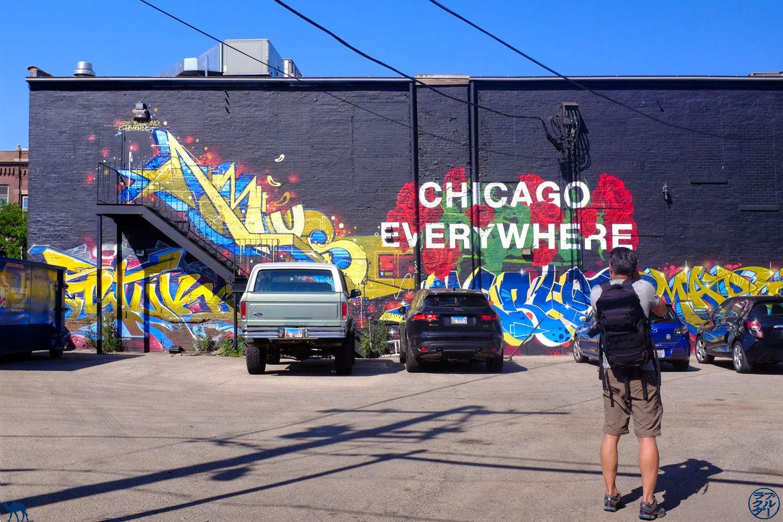 Le Chameau Bleu - Blog Voyage Chicago - Balade autour du Street Art de Chicago