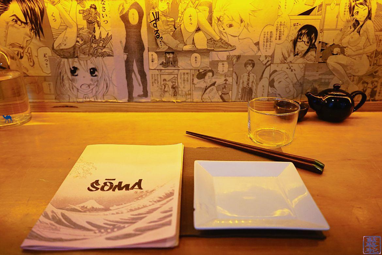 Le Chameau Bleu - Blog Gastronomie Soma Paris - Restaurant Japonais Isakaya Le Soma à Paris