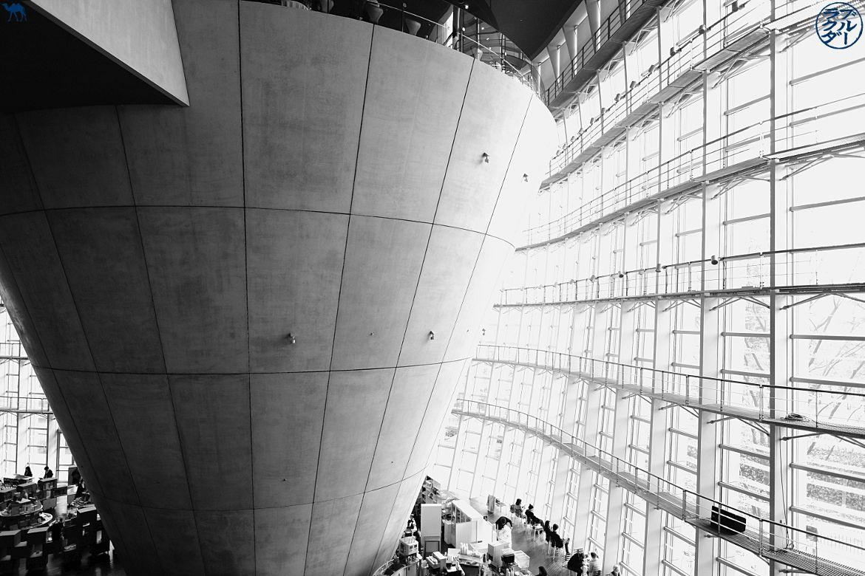Le Chameau Bleu - Japon - Tokyo visite du Centre National d'Art à Roppongi
