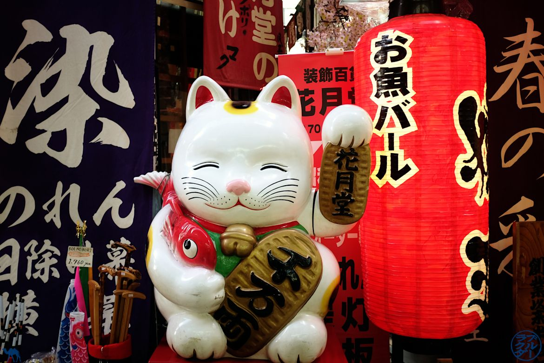 Le Chameau Bleu - Blog Voyage Japon - Chat de la fortune