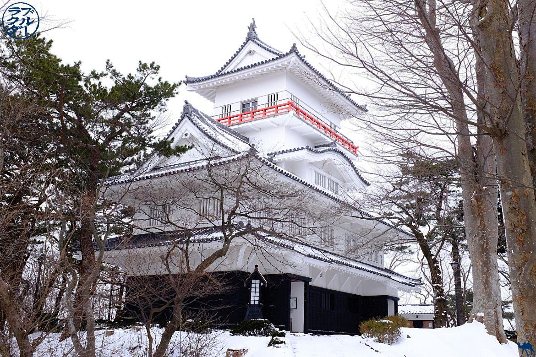Le Chameau Bleu - Voyage au Nord du Japon - Tohoku - Chateau d'Akita