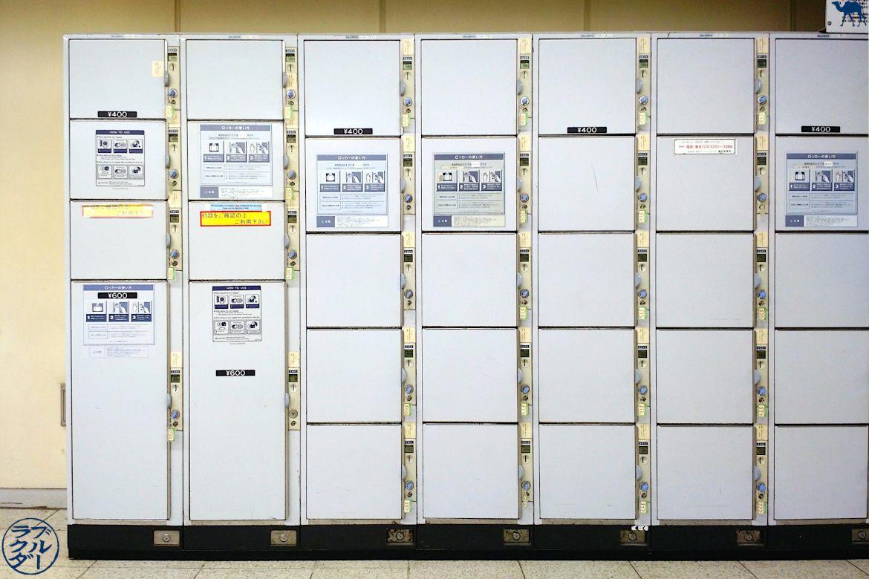 Le Chameau Bleu - Blog Voyage Japon - Locker - Consigne valise dans les gares du Japon