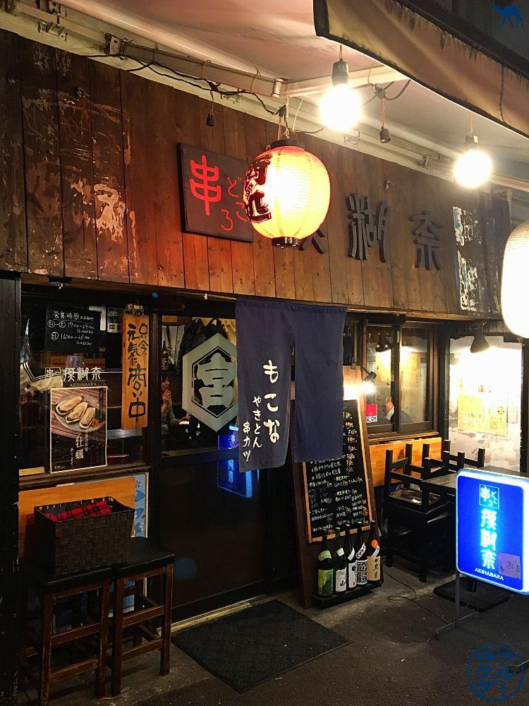Le Chameau Bleu - Blog Voyage Tokyo - Voyage au Japon - Tokyo - Devanture de Mocona Isakaya à Akihabara