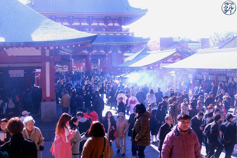 Le Chameau Bleu - Blog Voyage Japon -Asakusa - Tokyo Japon - Foule de touristes