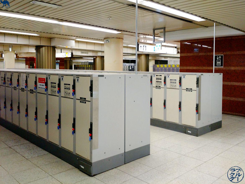 Le Chameau Bleu - Blog Voyage Japon - Locker - Consigne dans les gares du Japon