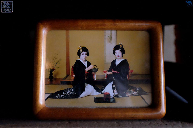 Le Chameau bleu -Blog Voyage Japon - Voyage au Japon - Kanazawa - Portrait de Geisha