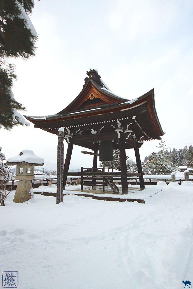 Le Chameau bleu - Blog Voyage Japon - Voyage au Japon - Gong de Takayama sous la neige