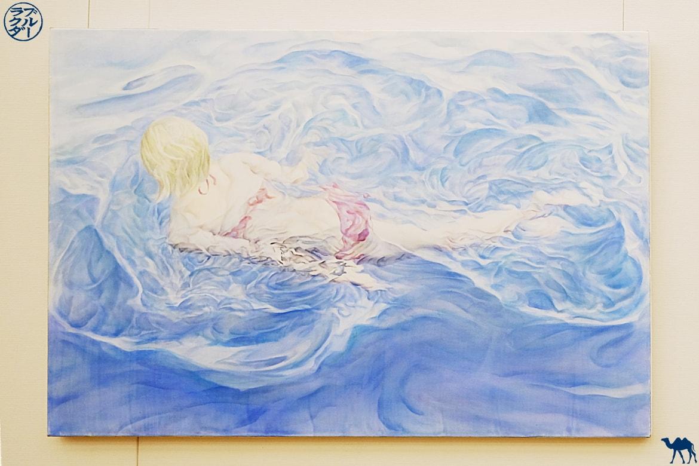 Le Chameau Bleu - Blog Voyage Japon - Tableau du centre national d'art de Tokyo Roppongi
