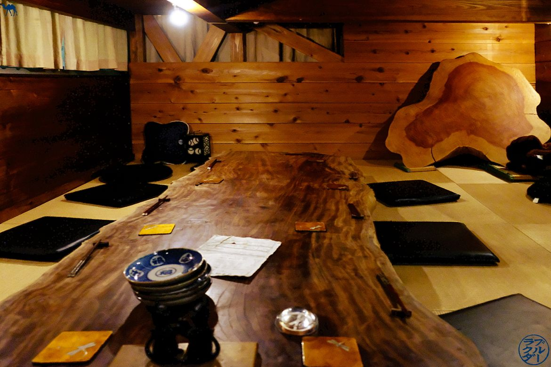 Le Chameau Bleu - Salle de Sara Bar à Saké à Tokyo - Akihabara - Japon