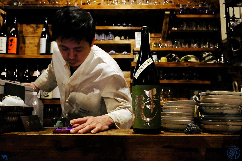 Le Chameau Bleu - Sélection de Saké de Sara Bar a Saké à Tokyo - Japon