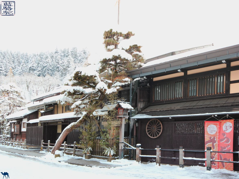 Le Chameau Bleu - Blog Voyage Japon - Séjour au Japon sous la neige- Takayama sous la neige