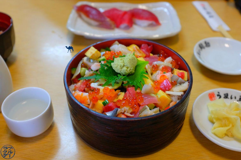 Le Chameau Bleu - Blog Voyage Tsukiji Tokyo - Chirashi de Tsukiji - Séjour à Tokyo Vacances au Japon