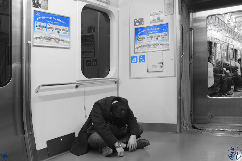 Le Chameau Bleu - Blog Voyage Japon - Homme Ivre - Les 10 choses à Savoir au Japon