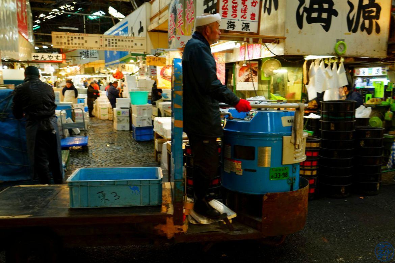 Le Chameau Bleu - Blog Voyage Tokyo Tsukiji - Marché au poisson de Tsukiji Tourisme Tokyo