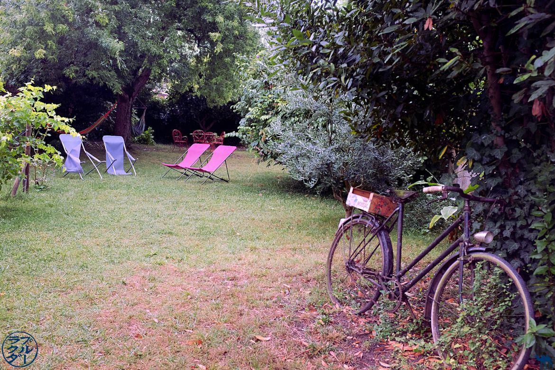 Le Chameau Bleu - Blog Canal des deux mers à vélo - Maison du pont Saint Jacques à Moissac