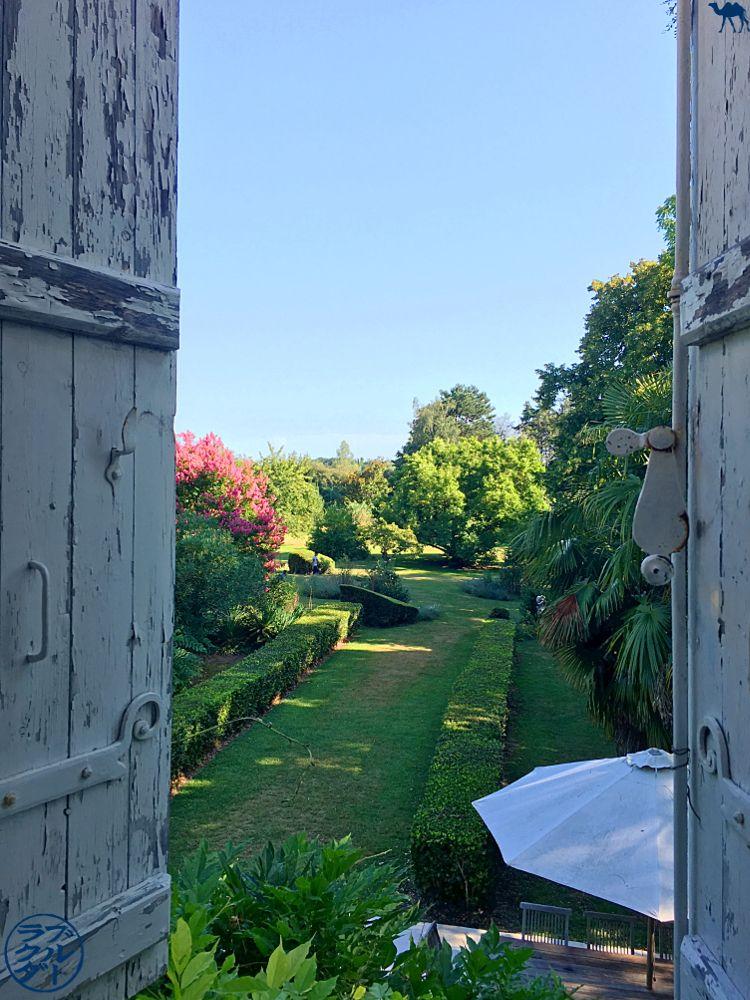 Le Chameau Bleu - Blog Voyage à vélo Canal des Deux mers - Chambre du Manoir en Agenais à Puch d'Agenais - Département du Lot et Garonne