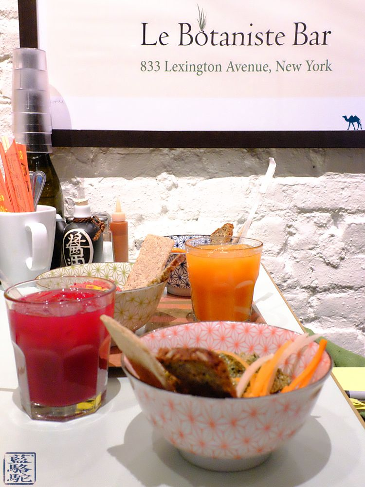 Le Chameau Bleu - Blog Voyage New York City Jus Detox du restaurant Botaniste à New York USA