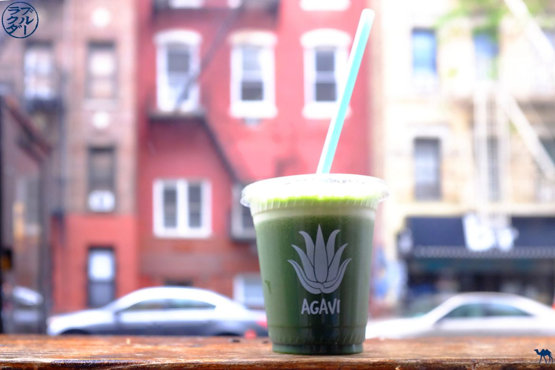 Le Chameau Bleu - Blog Voyage New York City - Bar à Jus Aga Vita - Green It On
