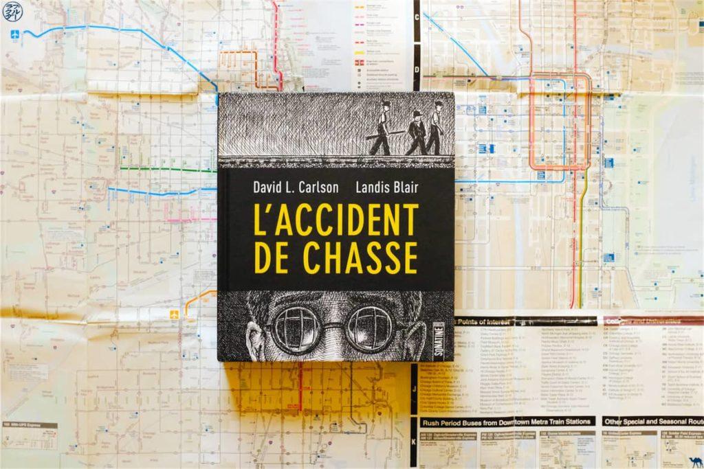 Le Chameau Bleu - Blog Voyage et Littérature - L'accident de chasse Carlson et Blair