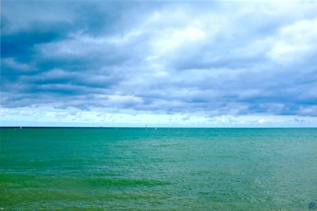 Le Chameau Bleu - Blog Voyage et Photo - La Manche à Veulettes Sur Mer - Fécamp Dieppe à vélo