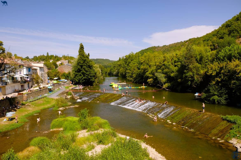Le Chameau Bleu - Blog Voyage et Cuisine - Bord du Viaur Laguepie - Les Gorges de l'Aveyron