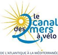El camell blau - bloc Canal de viatges dels dos mars en bicicleta - Logotip del Canal 2 Seas