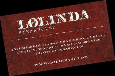 Le Chameau Bleu - Blog Voyage San Francisco - restaurant Lolinda de San Francisco
